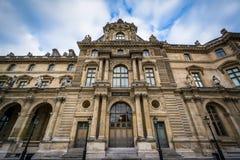 Pavillon Colbert, at the Louvre Palace, in Paris, France. Stock Photos