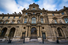 Pavillon Colbert, at the Louvre Palace, in Paris, France. Stock Images