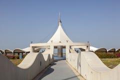 Pavillon am corniche in Abu Dhabi Lizenzfreies Stockbild