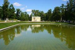 Pavillon d'été du siècle 18. La Russie, St Petersburg, Tsarskoye Selo. Photographie stock libre de droits
