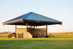 Pavillon d'aire de repos d'état de l'Idaho Photographie stock libre de droits
