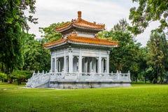 Pavillon d'amitié Thaïlande - Chine en parc de Lumpini Photos stock
