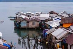 Pavillon dans la ville de Coron sur Busuanga Photos stock