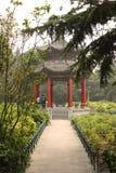 Pavillon dans le jardin chinois Photos stock