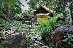 Pavillon dans zhipling sur l'île de Koh Chang Photo stock