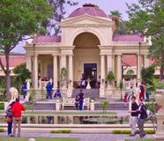 Pavillon de Basanta dans le jardin des rêves, Katmandou Photos stock