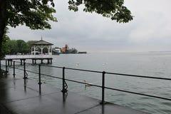 Pavillon de belvédère chez le Lac de Constance photos stock