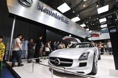 Pavillon de benz de Mercedes Photo stock