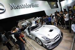Pavillon de benz de Mercedes, SLS AMG GT3 Photo libre de droits