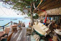 Pavillon de bord de la mer images stock