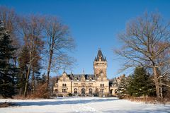 Pavillon de chasse Hummelshain Photographie stock libre de droits