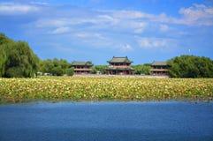 Pavillon de Chineses de palais d'été Images libres de droits