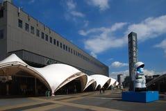 Pavillon de contrat à terme en l'EXPO 2010 Changhaï Image libre de droits