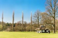 Pavillon de cricket Photographie stock libre de droits