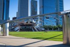 Pavillon de Jay Pritzker en stationnement de millénium Photos stock