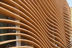 Pavillon de Kazakhstan à l'expo 2015 en Milan Italy Photo stock