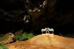 Pavillon de Khuha Kharuehat, caverne de Phraya Nakhon, Khao Sam Roi Yot National Park, Thaïlande photographie stock libre de droits