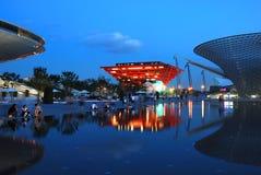 Pavillon de la Chine en l'EXPO 2010 Changhaï Images libres de droits