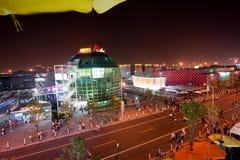 Pavillon 2010 de la Roumanie d'expo du monde de Changhaï de Chinois Image stock
