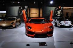 Pavillon de Lamborghini Photo libre de droits