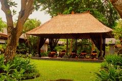 Pavillon de massage (Bali, Indonésie) Images stock