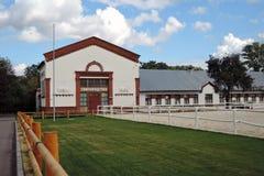 pavillon de Porc-élevage Architecture de parc de VDNH à Moscou Image stock