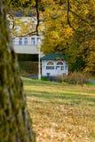 Pavillon de ressort d'eau minérale - Marianske Lazne Marienbad - République Tchèque image libre de droits
