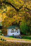 Pavillon de ressort d'eau minérale - Marianske Lazne Marienbad - République Tchèque images libres de droits