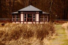 Pavillon de station thermale Image libre de droits