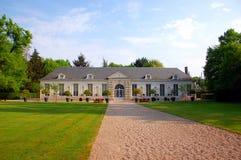Pavillon de thé dans le château de Cheverny Photo stock