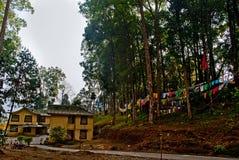 Pavillon de touristes photos stock