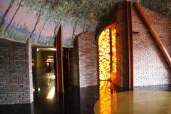 Pavillon de vin à l'expo 2015 - Milan Italy Photo stock