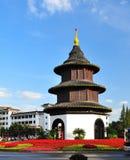 Pavillon de Yangzhou Wenchang Images stock