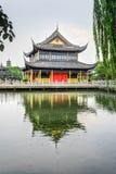 Pavillon de Zhigui dans le temple de Quanfu Photo stock