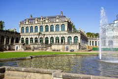 Pavillon de Zwinger à Dresde Photos stock