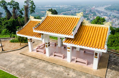 Pavillon der chinesischen Art Lizenzfreies Stockfoto