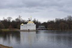 Pavillon des türkischen Bades in Catherine Park Lizenzfreie Stockbilder