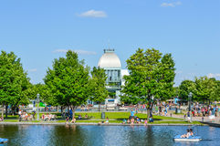 Pavillon du bassin Bonsecours Royalty Free Stock Images