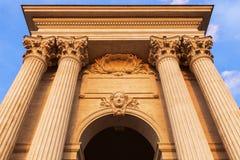 Pavillon du Peyrou in Montpellier Royalty Free Stock Image