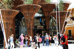 Pavillon du Vietnam à l'expo 2015 en Milan Italy Photo stock
