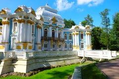 Pavillon-Einsiedlerei, Russland Stockfoto