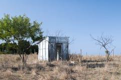 Pavillon en bois abandonné Photo stock