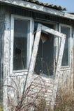 Pavillon en bois abandonné Photos stock