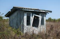 Pavillon en bois abandonné Photographie stock libre de droits