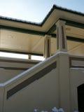 Pavillon en hiver Photos stock