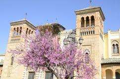 Pavillon en parc de Séville Photos libres de droits