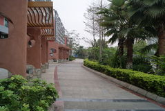 Pavillon et l'environnement Photographie stock libre de droits