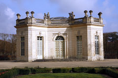 The Pavillon Français - Versailles Stock Photos