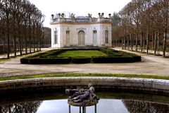 The Pavillon Francais - Versailles Stock Image