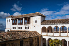 Pavillon of Generalife in Alhambra complex Stock Image